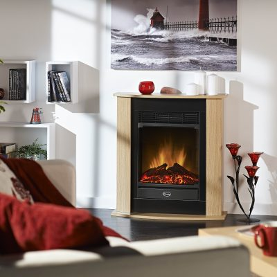 Figaro dimplex fire and surround
