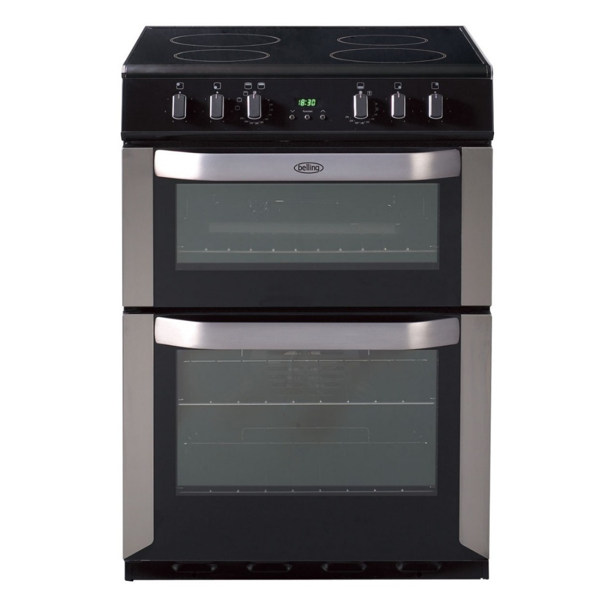 belling 60cm double oven knees home and electrical rh knees co uk Belling Induction Range Belling Appliances