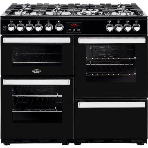 Belling Range Ovens Online - Belling 90DFT Dual Fuel Cook Centre