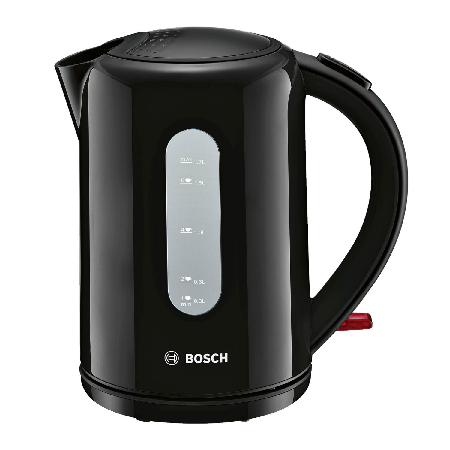 Image of Bosch Cordless Kettle (Colour: Black, Availability: to order. Delivery charge £9.98 for mainland UK or free collection from store.)