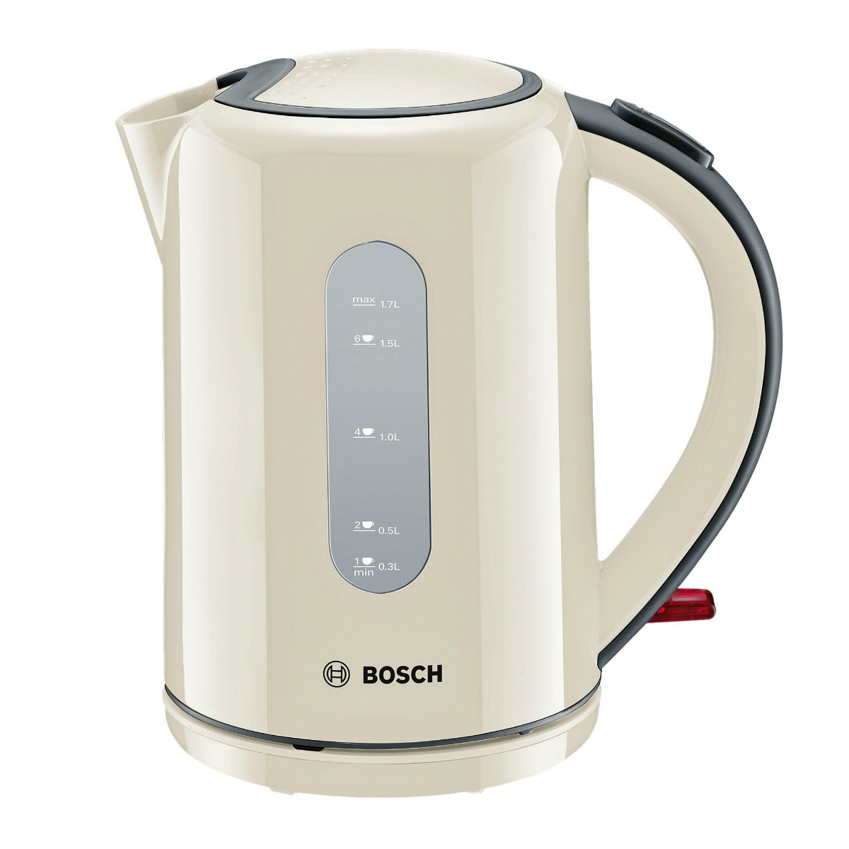 Image of Bosch Cordless Kettle (Colour: Cream, Availability: to order. Delivery charge £9.98 for mainland UK or free collection from store.)