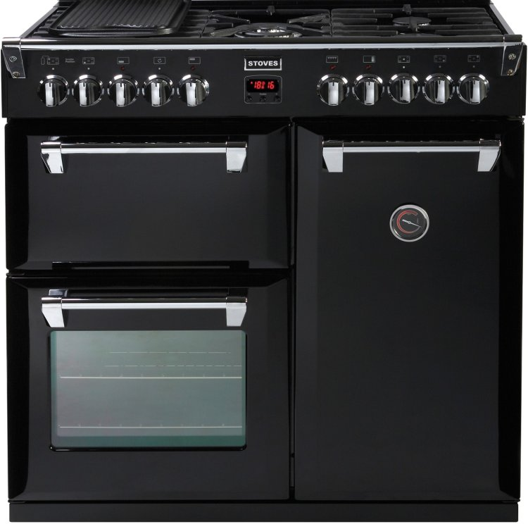 Range Cooker stoves richmond 900 dual fuel range cooker knees home and electrical