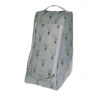 pvc29530-highland-stag-oilcloth-boot-bag