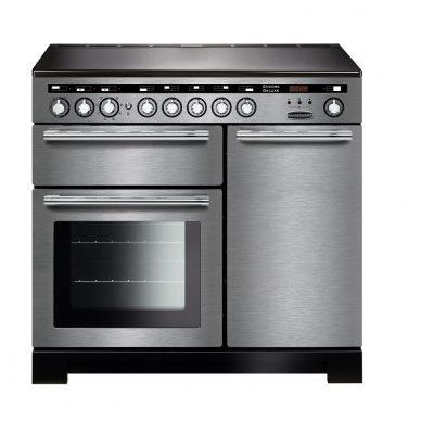 Rangemaster Range Ovens Online - Rangemaster Encore Deluxe 100cm Induction Cooker Stainless Steel