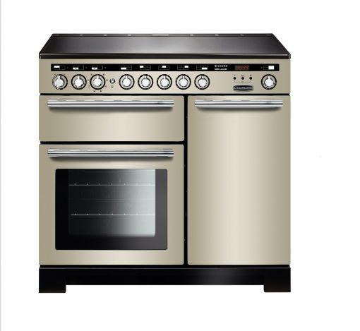 Rangemaster Range Ovens Online - Rangemaster Encore Deluxe 100cm Induction Cooker Ivory/Chrome