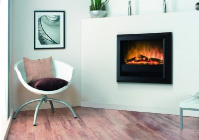 Bach wall mounted electric optiflame fire-Dimplex