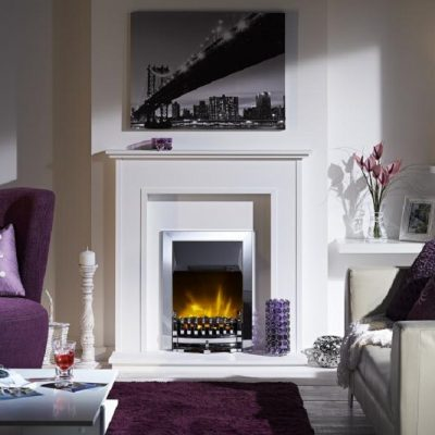 Inset Fire - Stamford Chrome - STM20CH -Dimplex