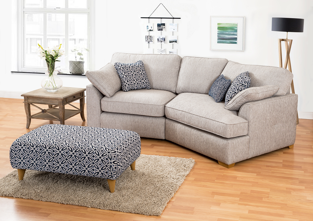 The Quinn Small Corner Sofa. HJ Home At Knees Home And Electrical.