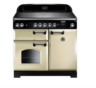 Rangemaster Range Ovens Online - Rangemaster Classic 100cm Ceramic Cooker Cream