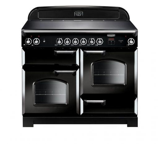 Rangemaster Range Ovens Online - Rangemaster Classic 110cm Ceramic Cooker Black