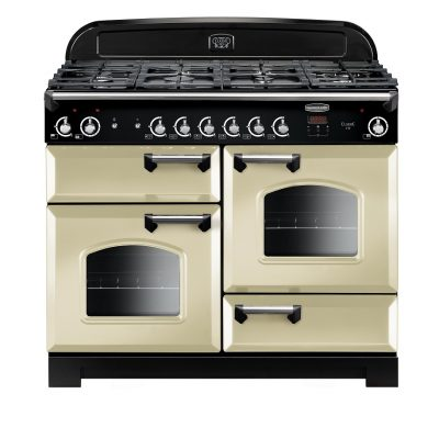 Rangemaster Range Ovens Online - Rangemaster Classic 110cm Natural Gas Cooker Cream