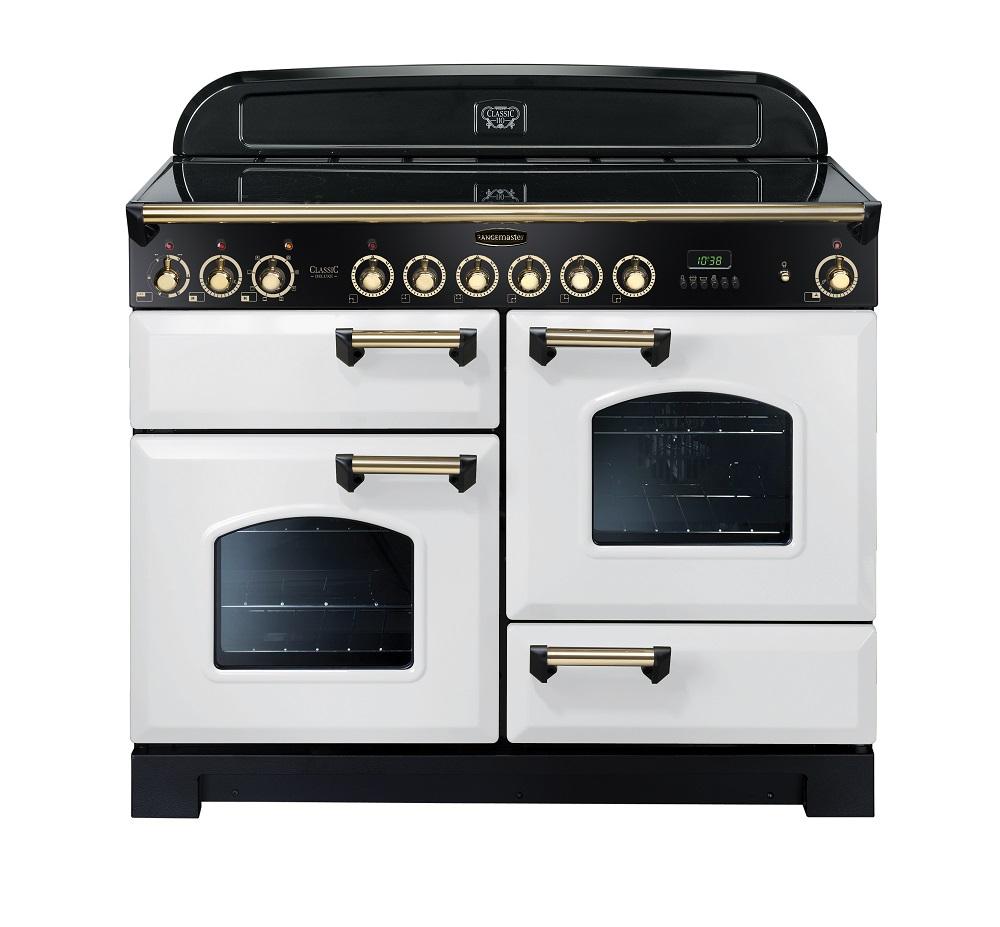 Rangemaster Classic Deluxe 110 Ceramic Range Oven. Knees Home and ...
