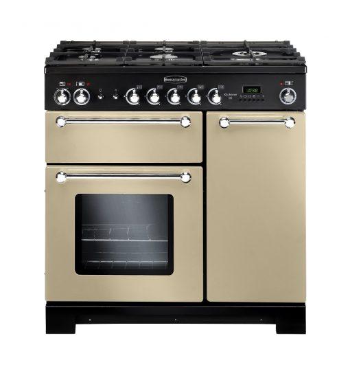Rangemaster Range Ovens Online - Rangemaster Kitchener 90cm Dual Fuel Cooker Cream