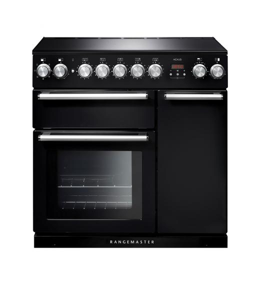 Rangemaster Range Ovens Online - Rangemaster Nexus 90cm Induction Cooker Black