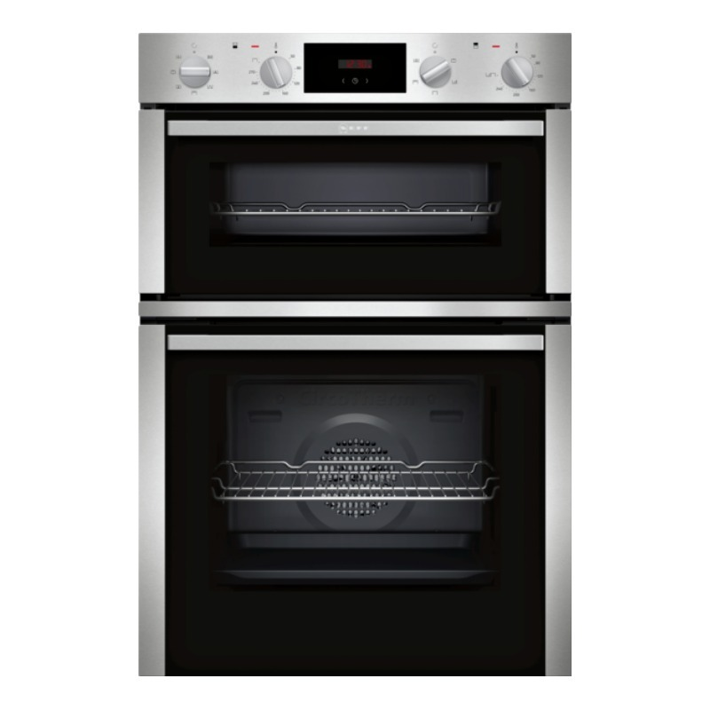 Neff Built In Double Oven With Circotherm Knees Home And