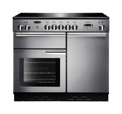 Rangemaster Range Ovens Online - Rangemaster Professional Plus 100cm Stainless Steel Ceramic Cooker