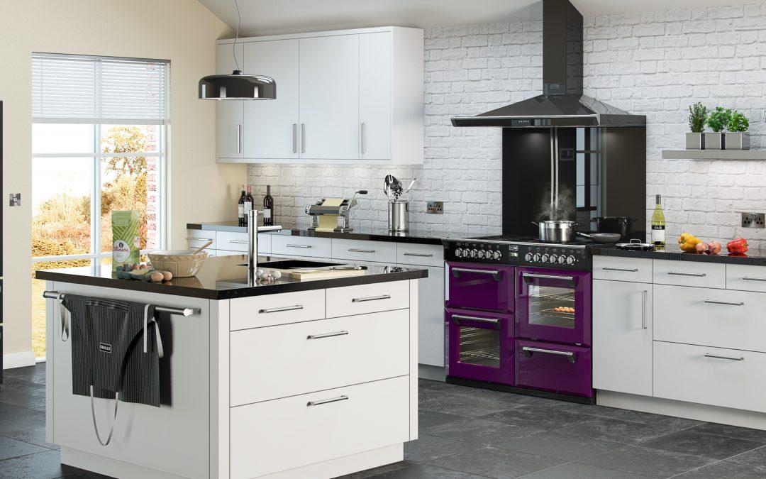 Stoves_Range_Wild_Berry_Kitchen_Roomset