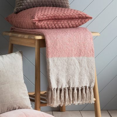5055999238946-Tonal Mohair Throw Blush & Silver