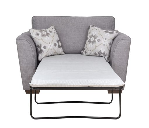 Eliza 80cm chair bed front open