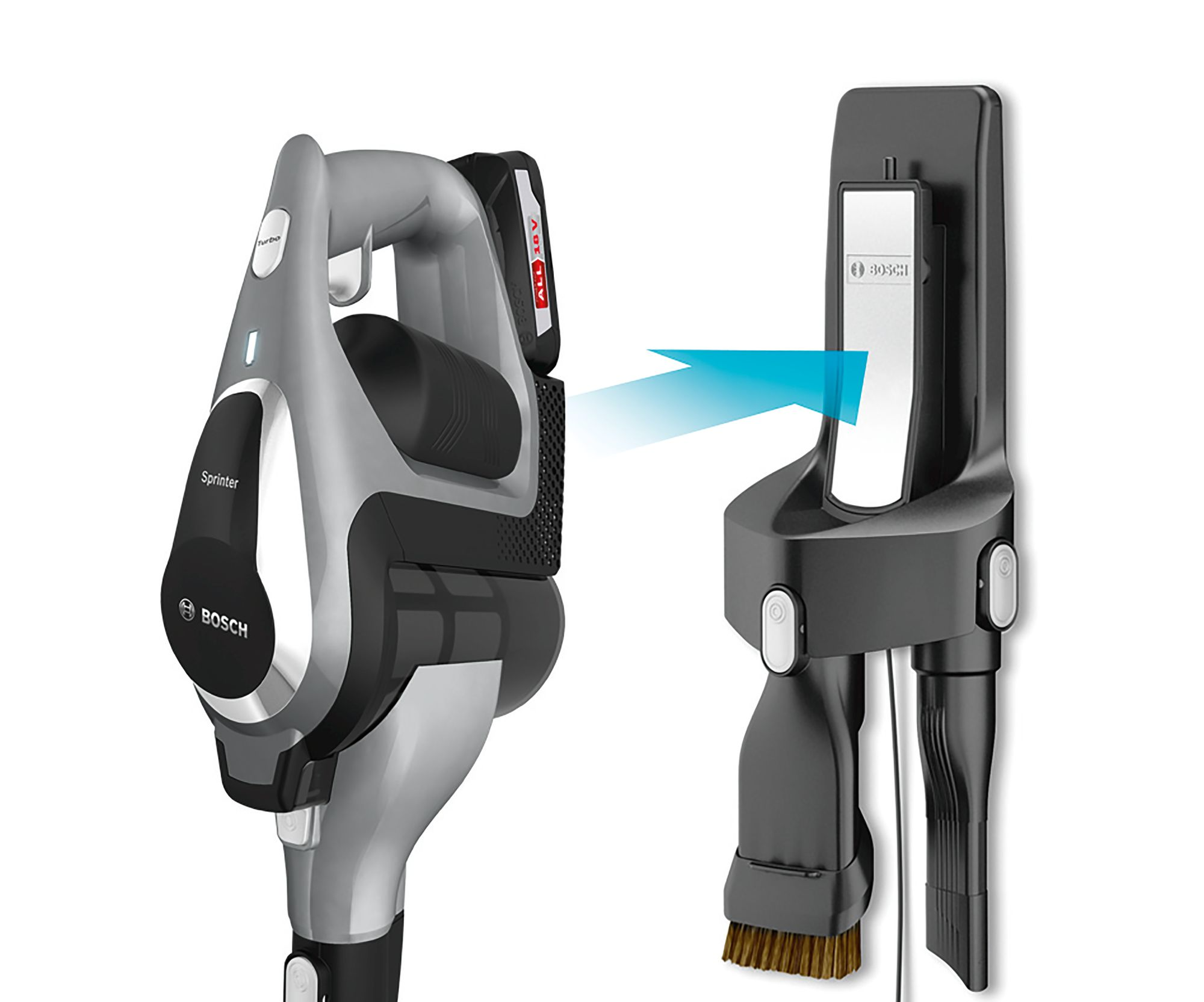 Bosch Cordless Upright Vacuum Cleaner Knees Home And