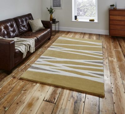 Elements EL61 Yellow rug_HJHome