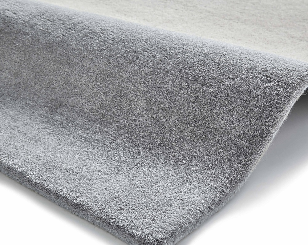 Image of Elements 120cm x 170cm Hand Tufted Wool Rug - Beige/Peach