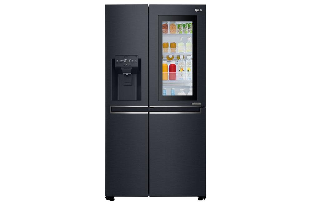 Lg Side By Side Fridge Freezer With Instaview Door In Door Knees