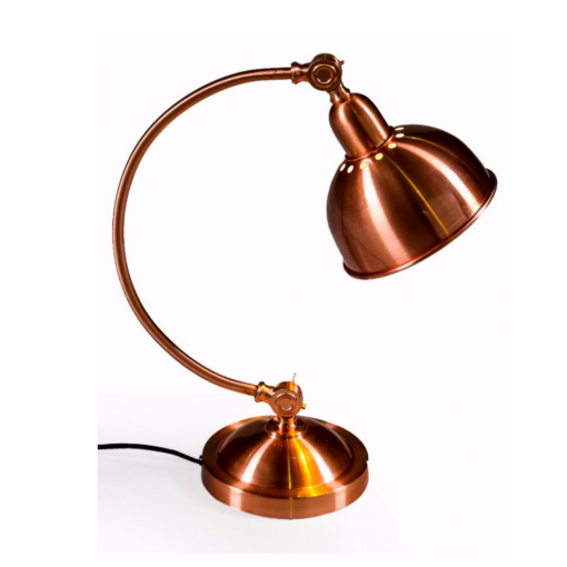 Vintage copper table lamp