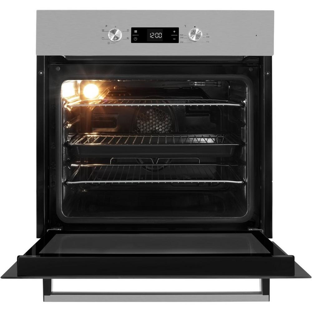 beko built in fan oven with variable grill knees home and. Black Bedroom Furniture Sets. Home Design Ideas