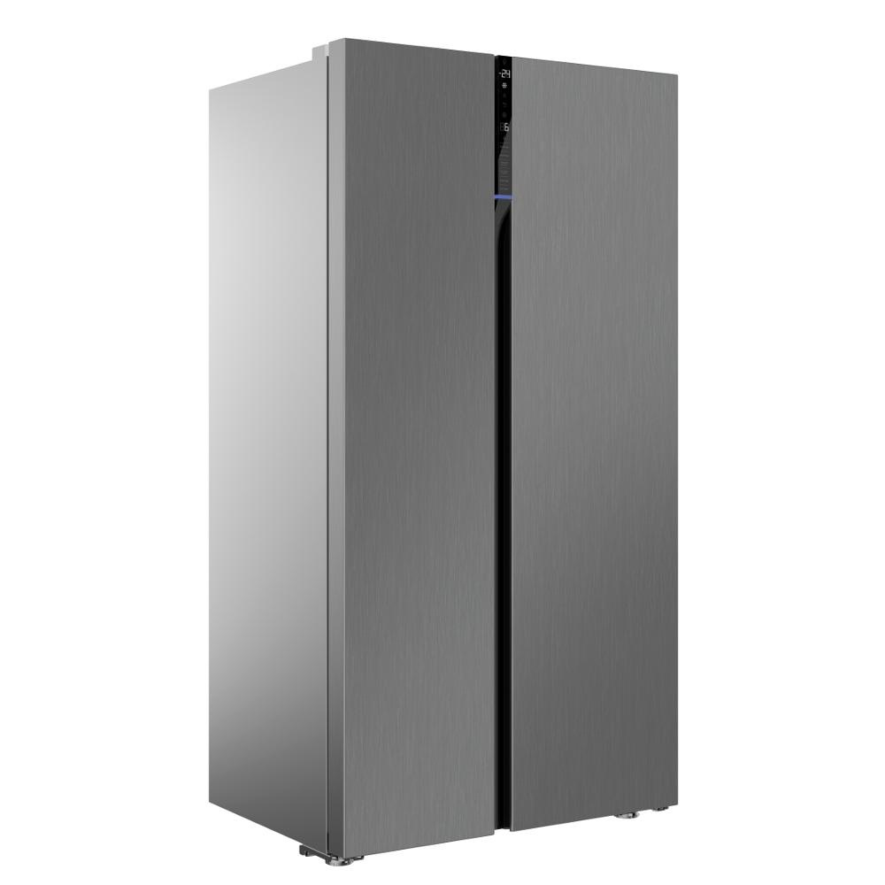 beko freestanding american style fridge freezer knees. Black Bedroom Furniture Sets. Home Design Ideas