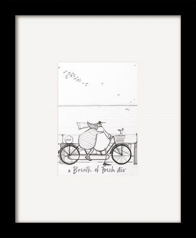 PFMPPR42178F A Breath of Fresh Air Sketch 35x29 Framed 1