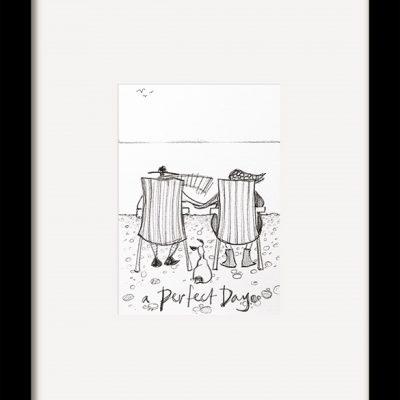 PFMPPR42180F A Perfect Day Sketch 35x29 Framed 1