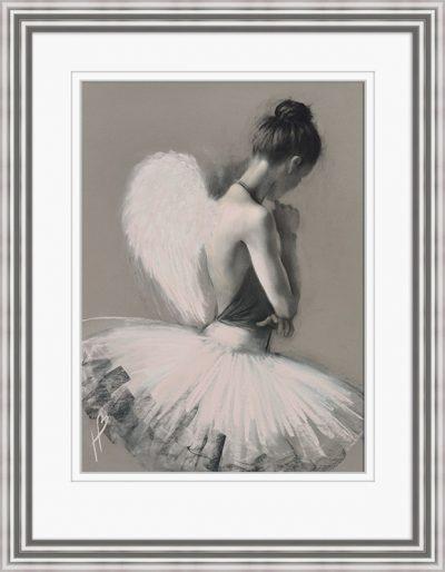 PPFPPR40984E Angel Wings III 60x80 Framed 1