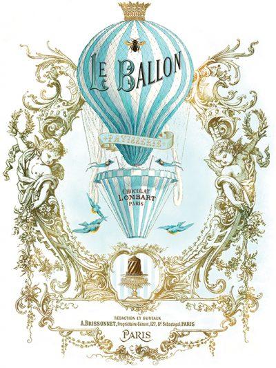 WDC90580 Le Ballon 80x60 Canvas