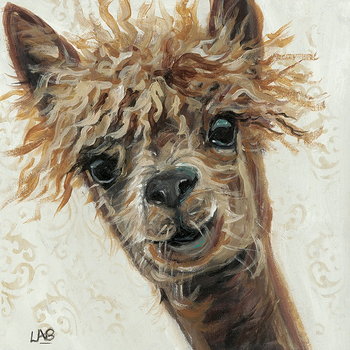 Image of Bad Hair Day 40 x 40cm Canvas Wall Art