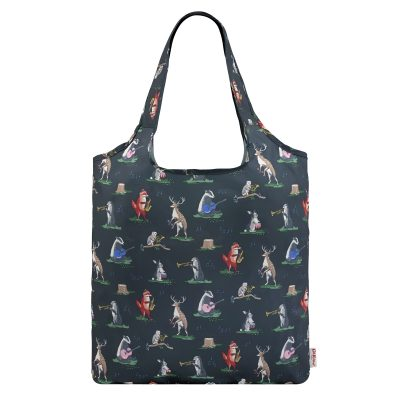 777223-ANIMAL BAND FOLDAWAY SHOPPER