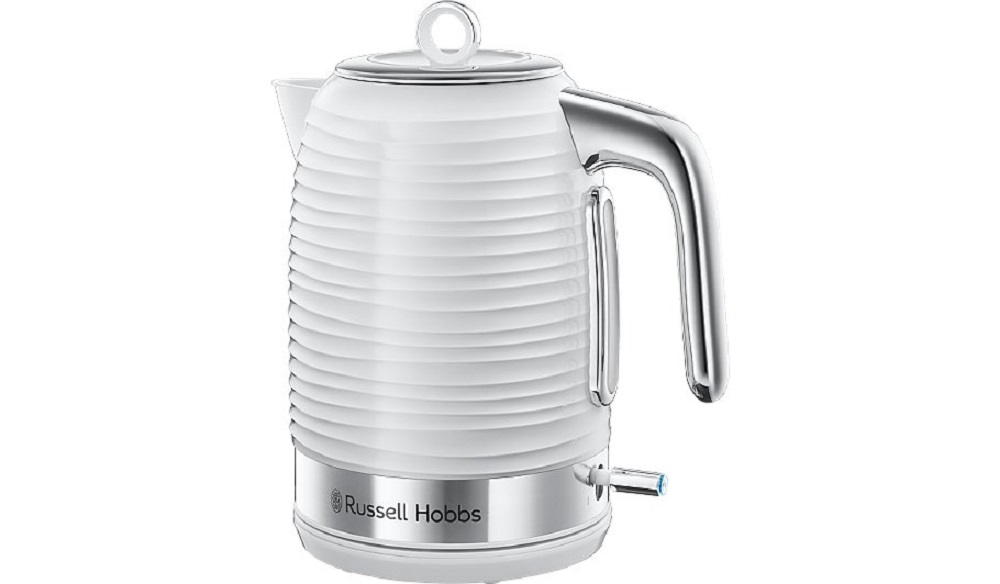 Russell Hobbs White Inspire Kettle Knees Home And Electrical