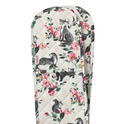 775304-BADGERS AND FRIENDS DOUBLE OVEN GLOVE