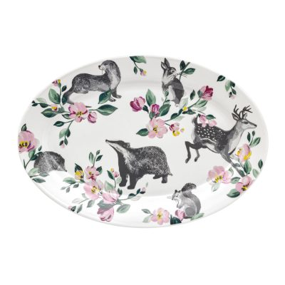 776035-BADGERS AND FRIENDS SERVING PLATE (1)