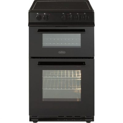 BELLING FS50EDOC BLK ELECTRIC DOUBLE OVEN