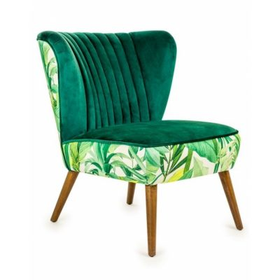 velvet-tropical-occasional-chair-green