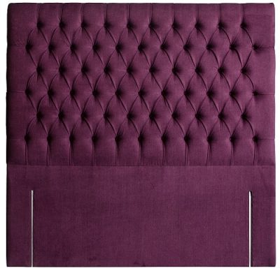 Paris Headboard in Berwick Blackberry CO