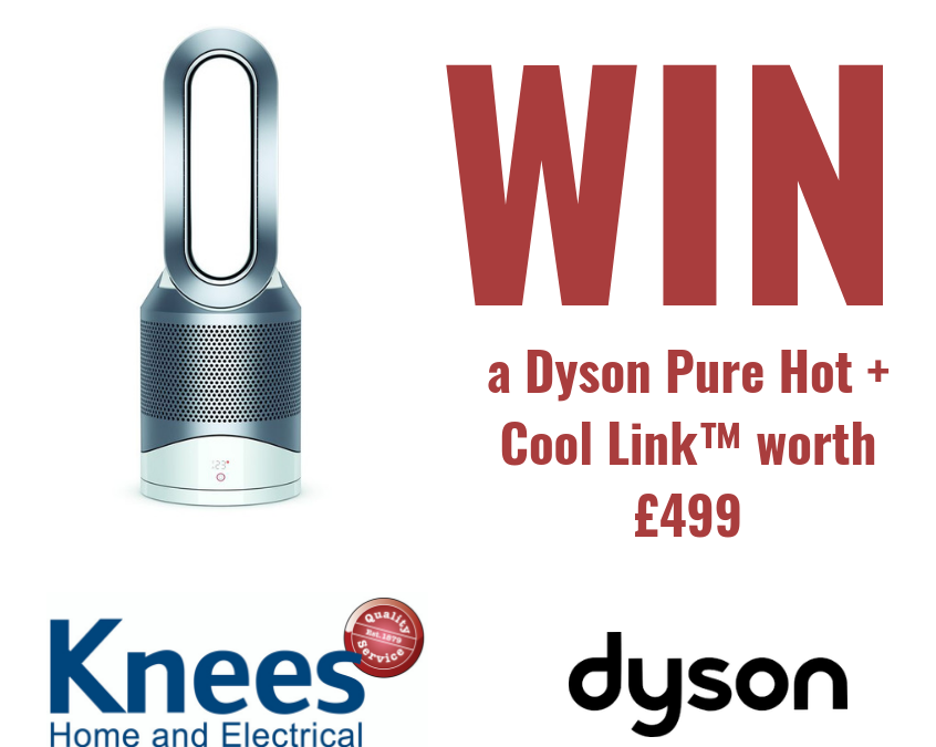 Facebook Competition – Win a Dyson Pure Hot + Cool Link™ Purifier Heater