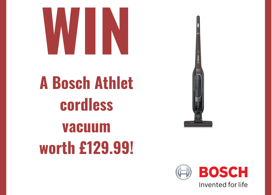 Facebook Competition – Win a Bosch Athlet Vacuum
