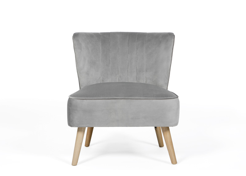 Image of Albie Cocktail Chair - Grey
