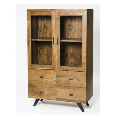 Chase 2 Doors and 4 Drawer Display Cabinet