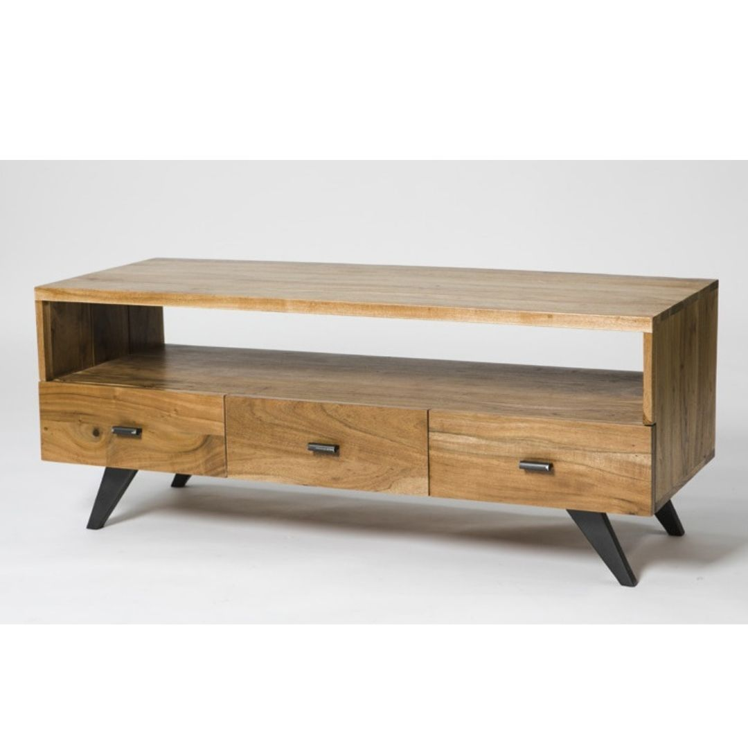 Chase 3 Drawer TV Unit