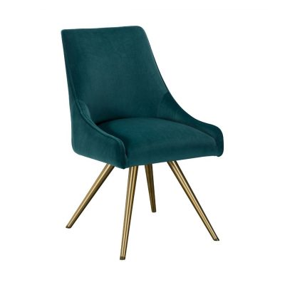 Sparrow velvet dining chair