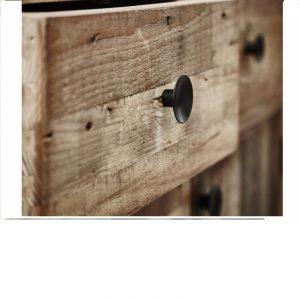 Wyatt Reclaimed Wood Sideboard Detail