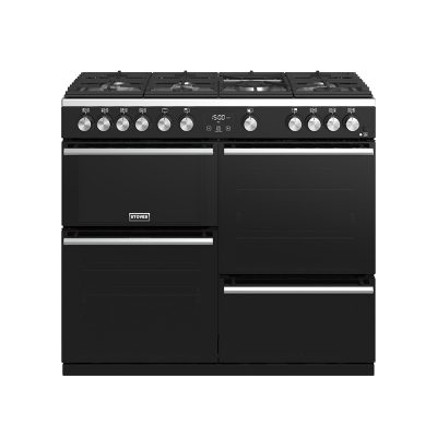Stoves 444410763 Precision Deluxe 100cm Gas Range Cooker - Black